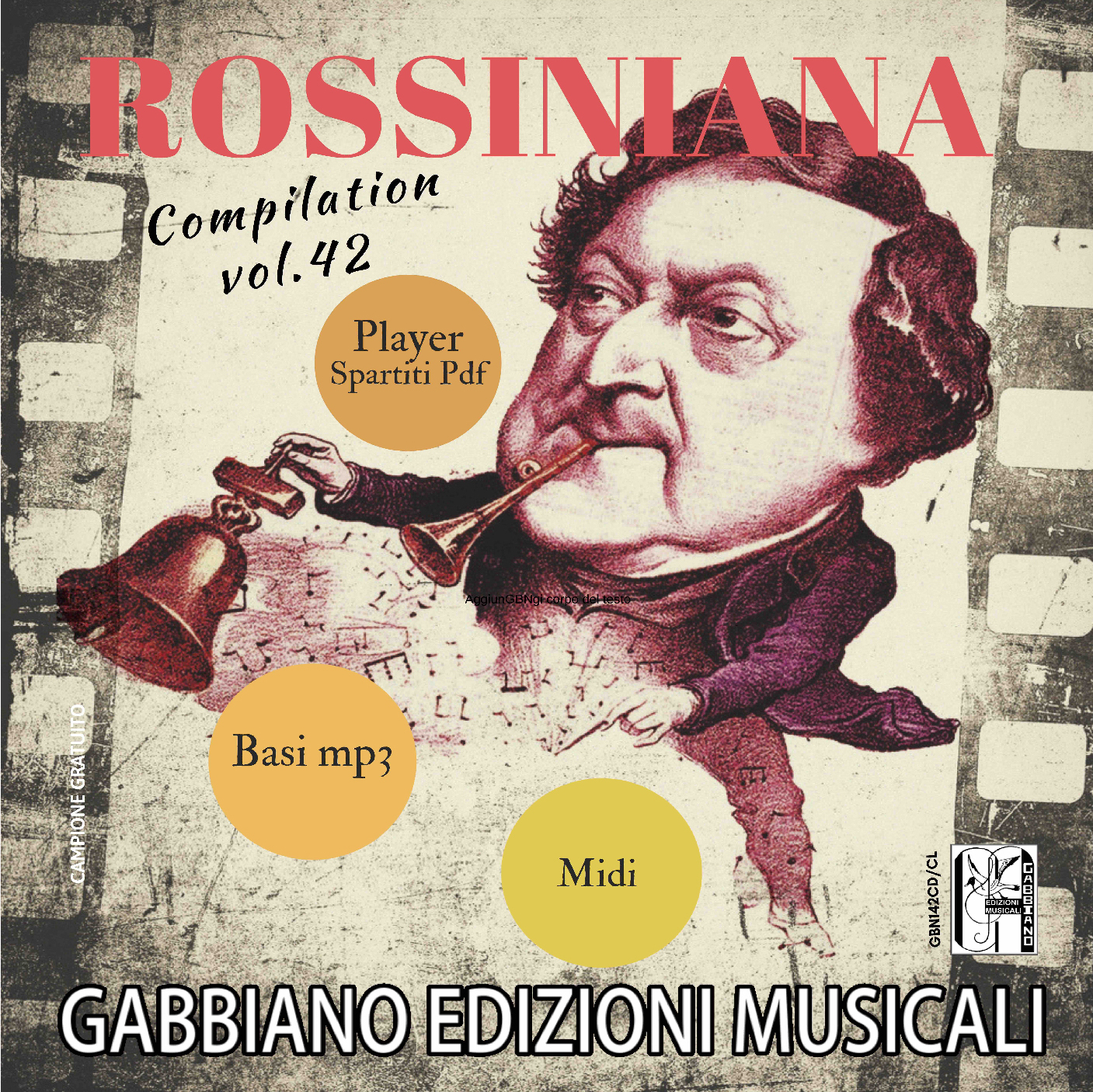 GBN142CD/CL - ROSSINIANA (compilation) - Volume 42
