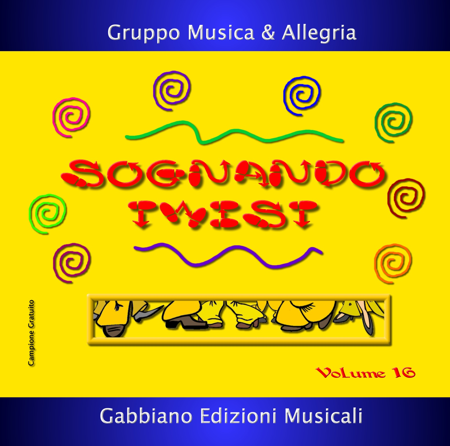 GBN116CD/CL - SOGNANDO TWIST - Volume 16