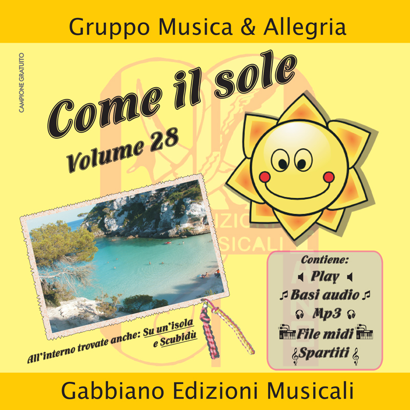 GBN128CD/C - Come il sole - Volume 28