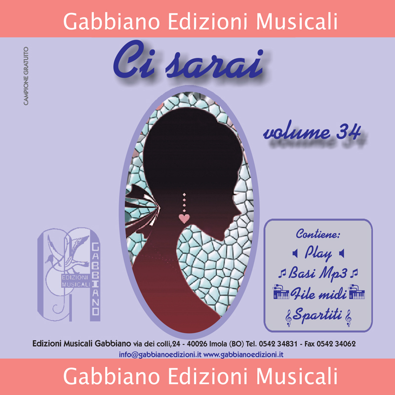 GBN134CD/CL - Ci sarai - Volume 34