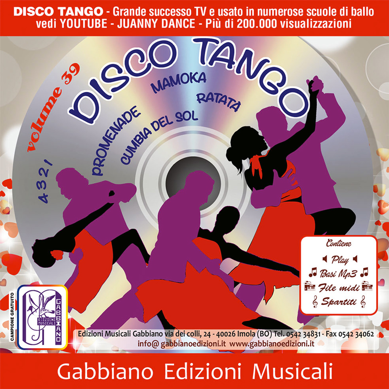 GBN139CD/CL - Disco tango - Volume 39